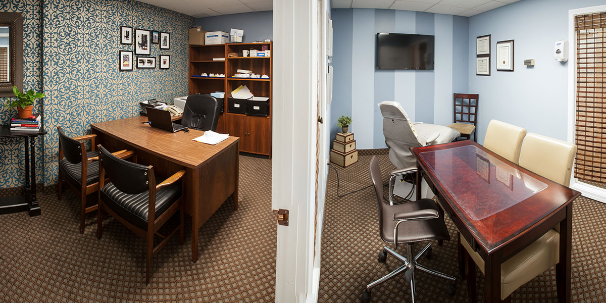 Consultation Room and Office